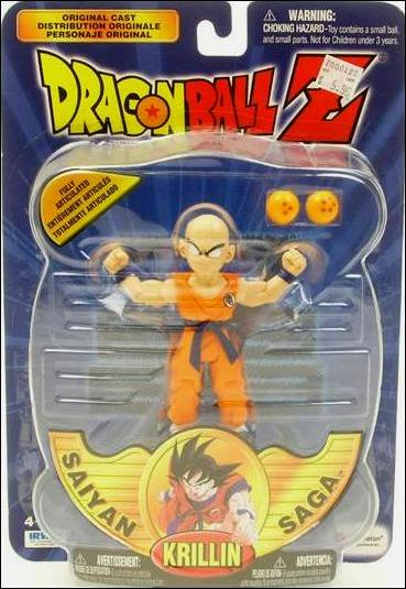Irwin Dragon Ball Z Saiyan Saga Krillin Figure 2000