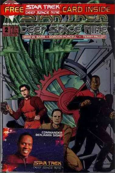 Star Trek: Deep Space Nine (1993) 2-A by Malibu
