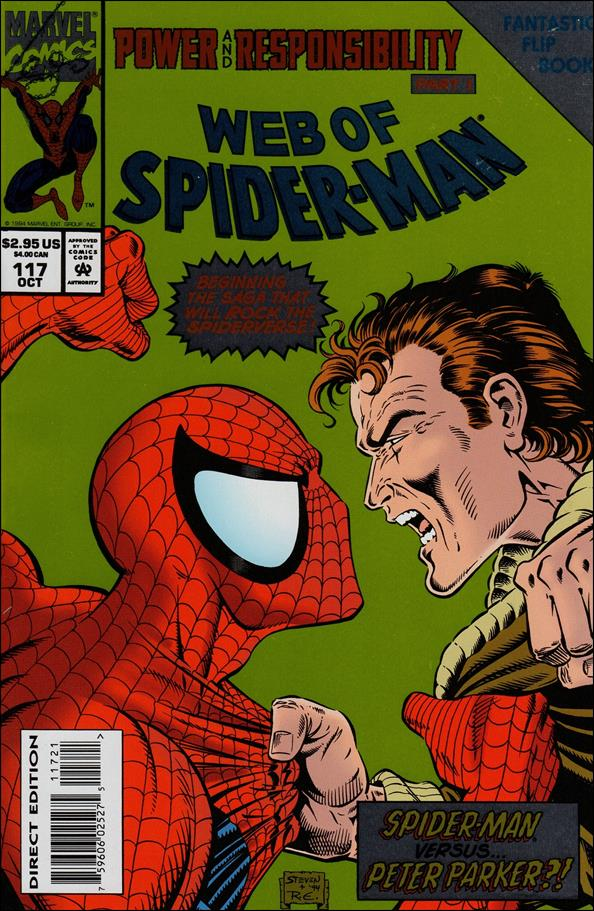 Web of Spider-Man (1985) 117-B by Marvel
