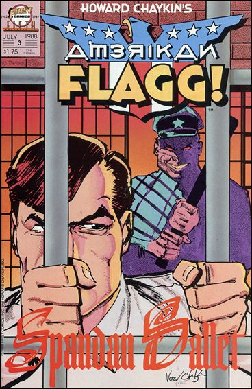 American Flagg! (1988) 3-A by First