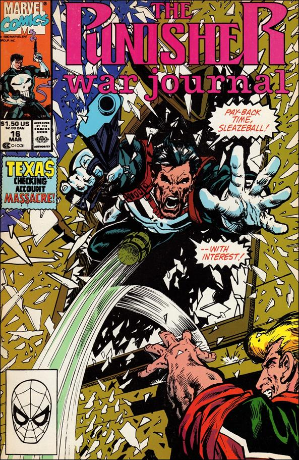 Punisher War Journal (1988) 16-A by Marvel