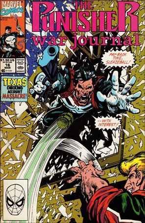 Punisher War Journal (1988) 16-A