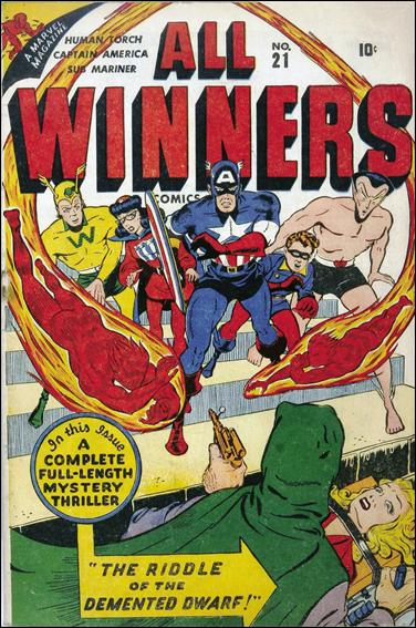 All-Winners Comics (1941) 21-A by Marvel