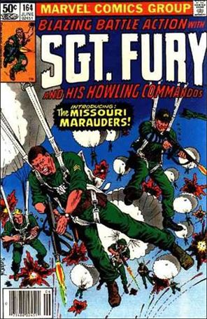 Sgt. Fury and His Howling Commandos 164-A