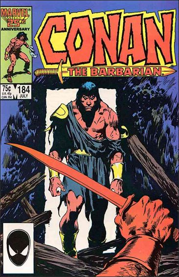 Conan the Barbarian (1970) 184-A by Marvel