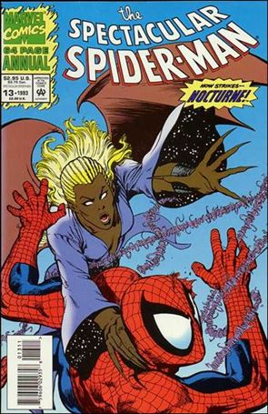 Spectacular Spider-Man Annual 13-A