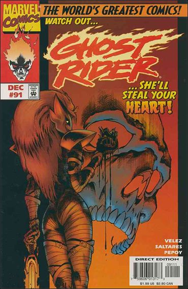 Ghost Rider (1990) 91-A by Marvel