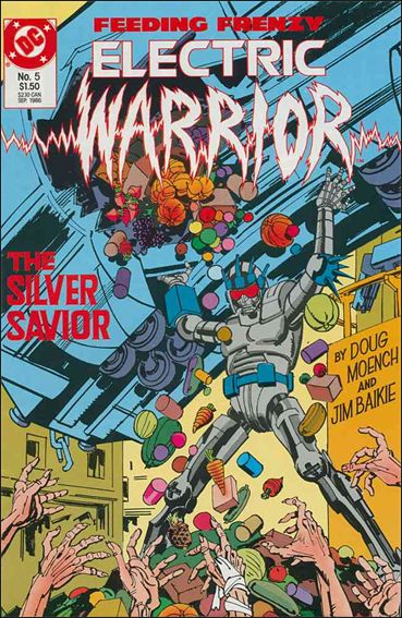 Electric Warrior 5-A by DC
