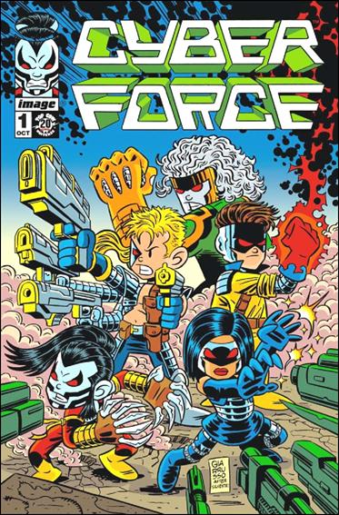 Cyberforce (2012) 1-E by Top Cow