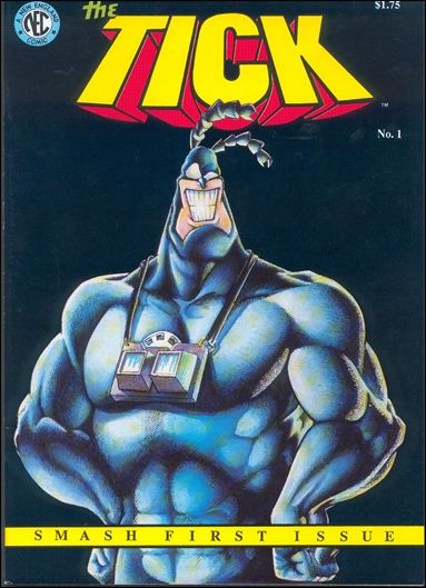 Tick (1988) 1-B by New England Comics Press (NEC / NECP)