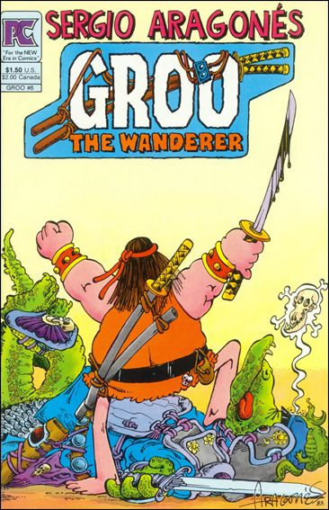 Groo the Wanderer 6-A by Pacific Comics