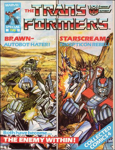 Transformers Special (UK) 4-A by Marvel UK