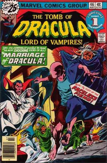 Tomb of Dracula (1972) 46-A by Marvel