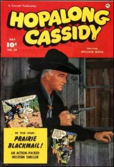 Hopalong Cassidy (1943) 69-A by Fawcett