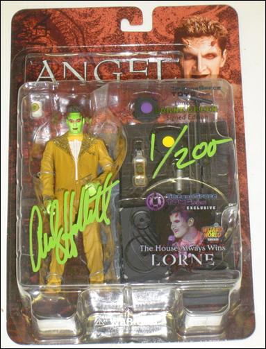 Angel The House Always Wins Lorne Green Signed 1/200, Not
