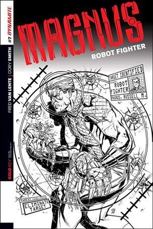 Magnus Robot Fighter (2014) 7-D