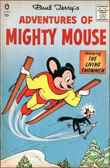 Adventures of Mighty Mouse (1956) nn 1-A by Pines