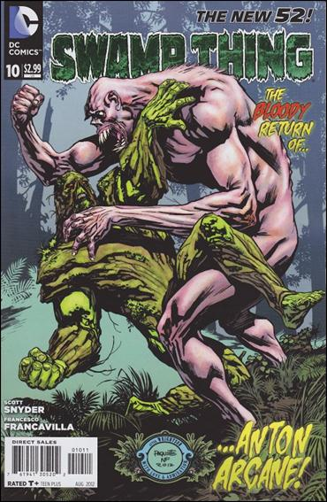 Swamp Thing (2011) 10-A by DC