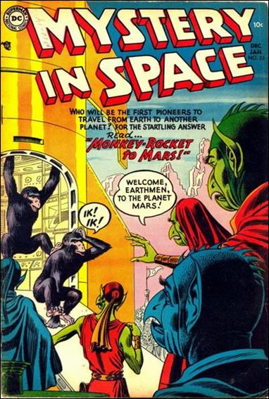 Mystery in Space (1951) 23-A by DC