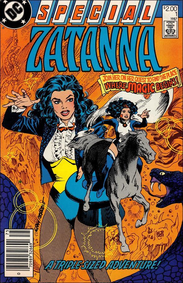 Zatanna Special 1-A by DC
