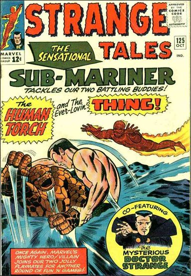 Strange Tales (1951) 125-A by Marvel
