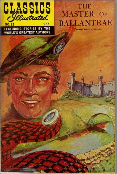 Classic Comics/Classics Illustrated 82-C by Gilberton