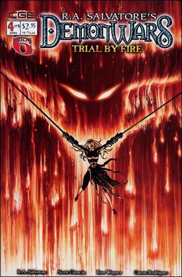 R.A. Salvatore's DemonWars: Trial by Fire 4-A by CrossGen