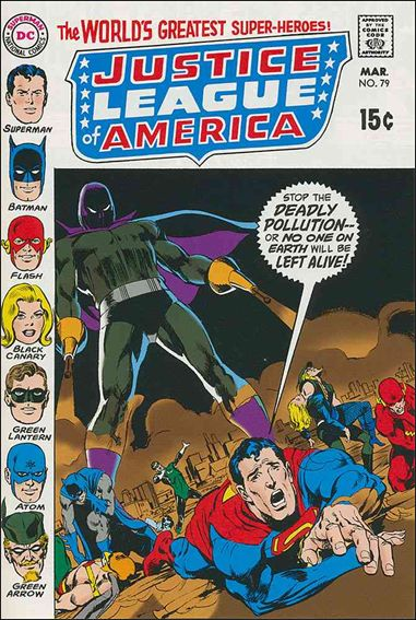 Justice League of America (1960) 79-A by DC