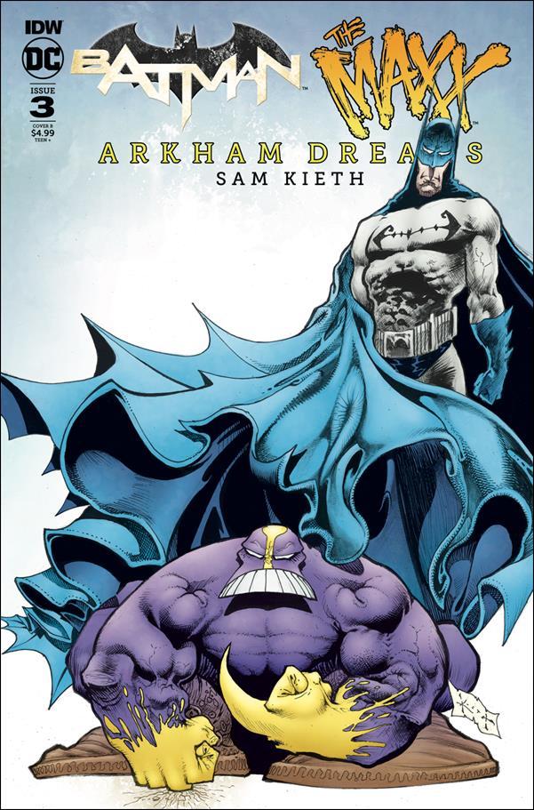 Batman/The Maxx: Arkham Dreams 3-B by IDW