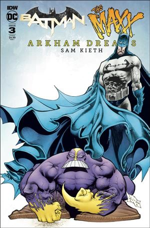 Batman/The Maxx: Arkham Dreams 3-B