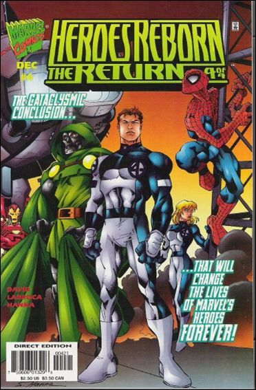 Heroes Reborn: The Return 4-B by Marvel