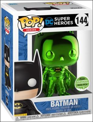 POP! Heroes Batman (Green Chrome) 2018 Spring Con 1/1500