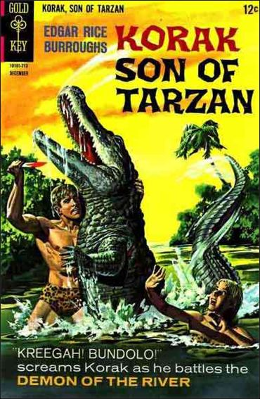 Korak, Son of Tarzan 20-A by DC