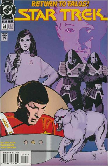 Star Trek (1989) 61-A by DC