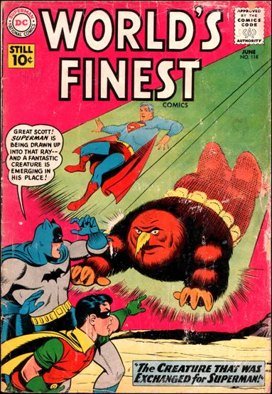 World's Finest Comics 118-A by DC