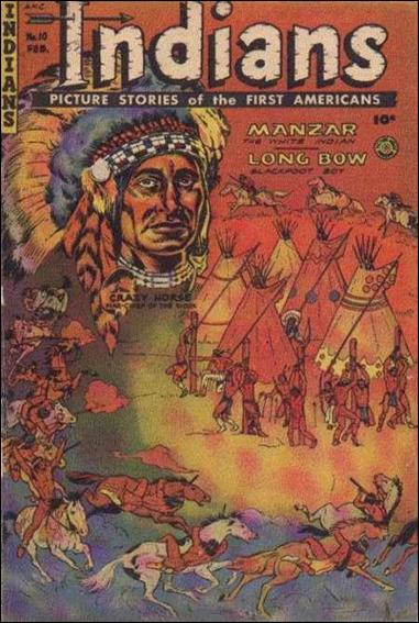 Indians 10-A by Fiction House Magazines