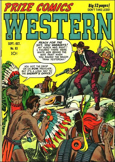 Prize Comics Western 83-A by Feature