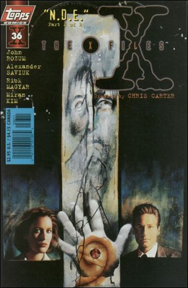 X-Files (1995) 36-A by Topps