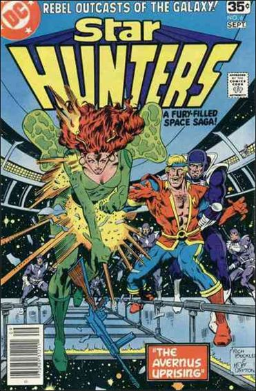 Star Hunters 6-A by DC