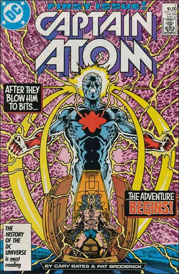 Captain Atom (1987) 1-A by DC