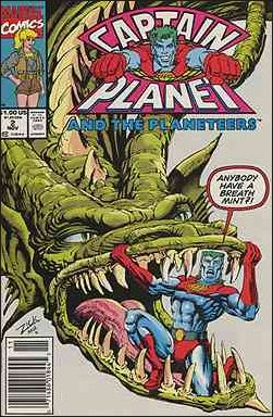 Captain Planet and the Planeteers 2-A by Marvel