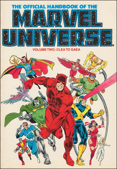 Official Handbook of the Marvel Universe 2-C by Marvel
