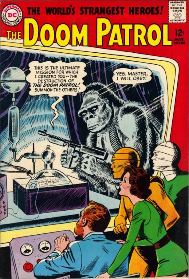 Doom Patrol (1964) 86-A by DC