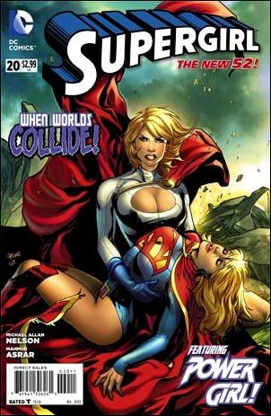 Supergirl (2011) 20-A by DC