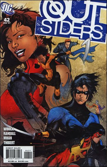Outsiders (2003) 42-A by DC