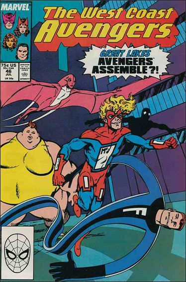 West Coast Avengers (1985) 46-A by Marvel