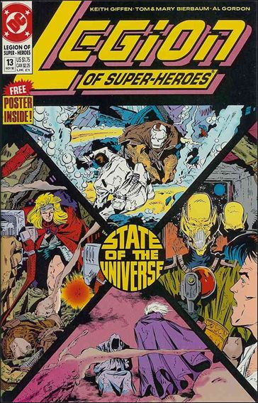 Legion of Super-Heroes (1989) 13-A by DC