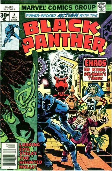 Black Panther (1977) 3-A by Marvel