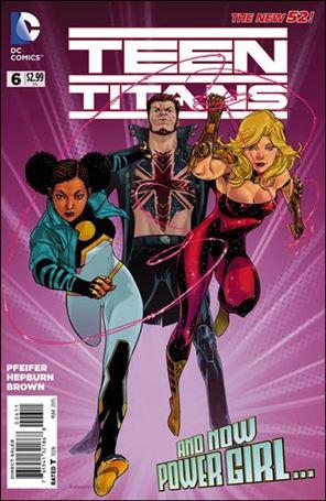 Teen Titans (2014) 6-A