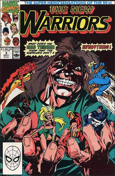 New Warriors (1990) 3-A by Marvel